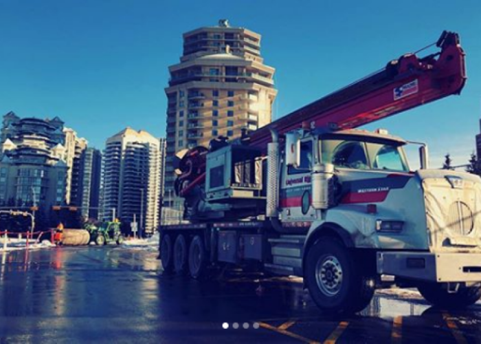 """Screenshot_2019-01-30 Universal Rig on Instagram """"Recent job in downtown Calgary AB #piling #universalrig #construction"""""""